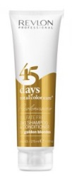 Revlon -> Shampooing Conditionneur 45 Days Golden Blondes (275ml)