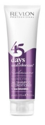 Revlon -> Shampooing Conditionneur 45 Days Ice Blondes (275ml)