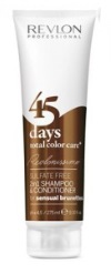 Revlon -> Shampooing Conditionneur 45 Days MARRON (275ml)