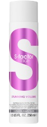 TIGI -> Conditionneur Stunning Volume (S Factor)( (250ml)
